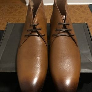 NEW- Dapper Genuine Leather Men's Boots US10
